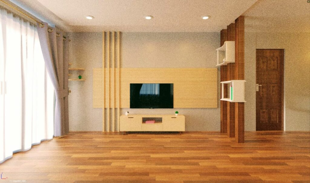 Render Image of a Living Room